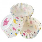 Baby Shower Paper Cupcake Cases