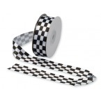 Chequered Flag Ribbon - 25mm x 20mt