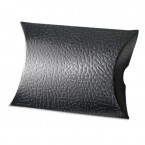 Black Leather Pillow Box