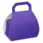 Purple Silk Handbag Box