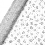 Snowflake Organza Net on a Roll